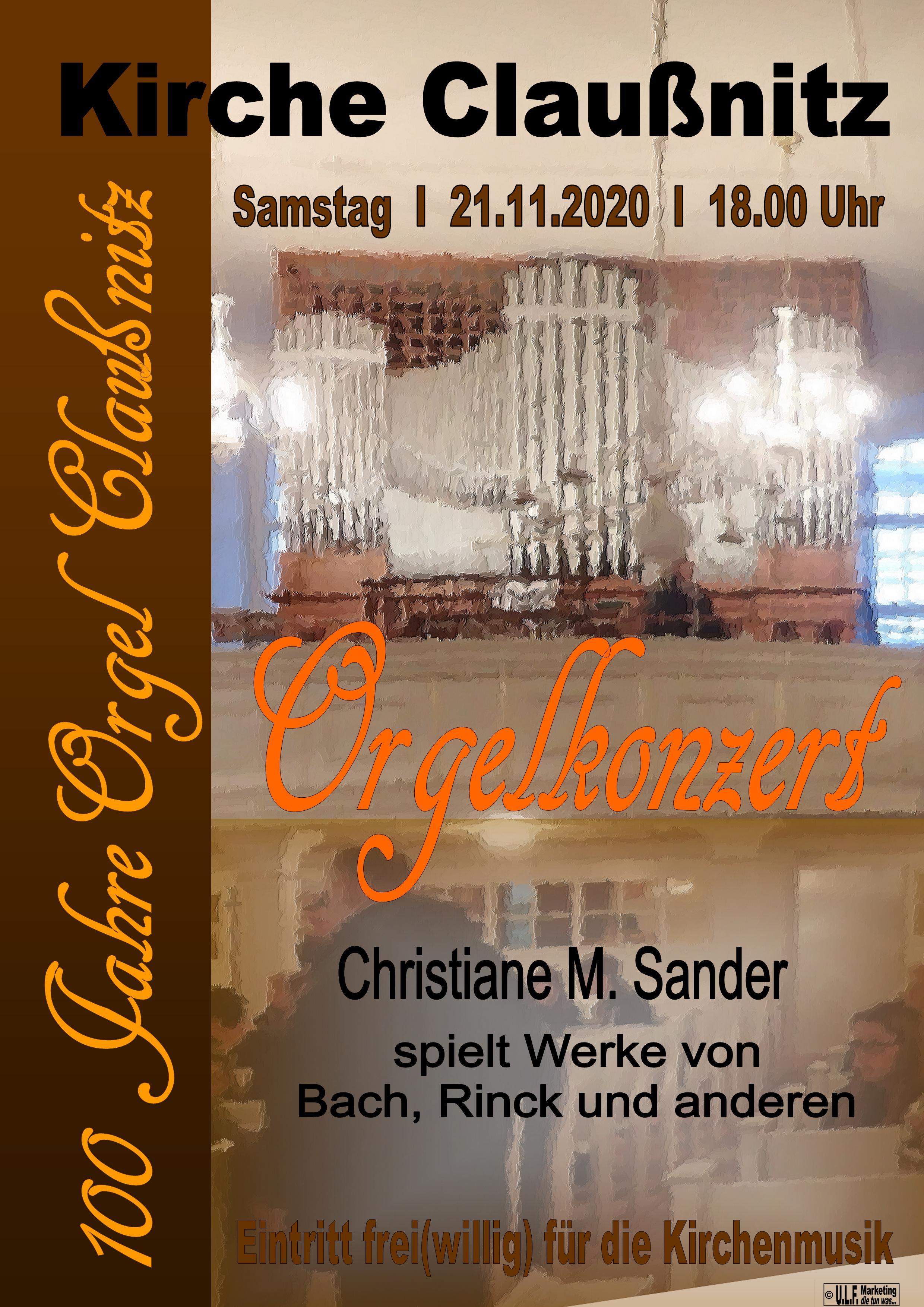 Orgelkonzert211120Claussnitz