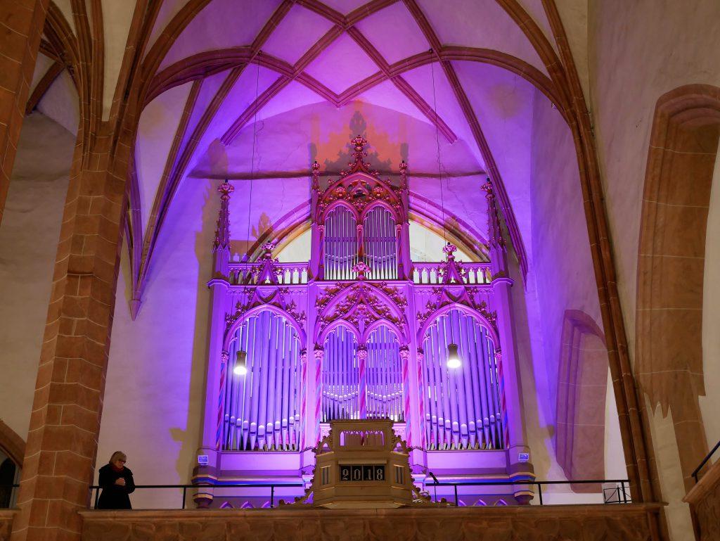 Wiedererstrahlte Orgel